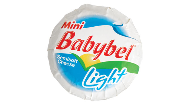 PHOTO: The Laughing Cow's Babybel cheese is shown here.