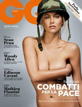 Alessandra Ambrosio Heats Up Mag Cover