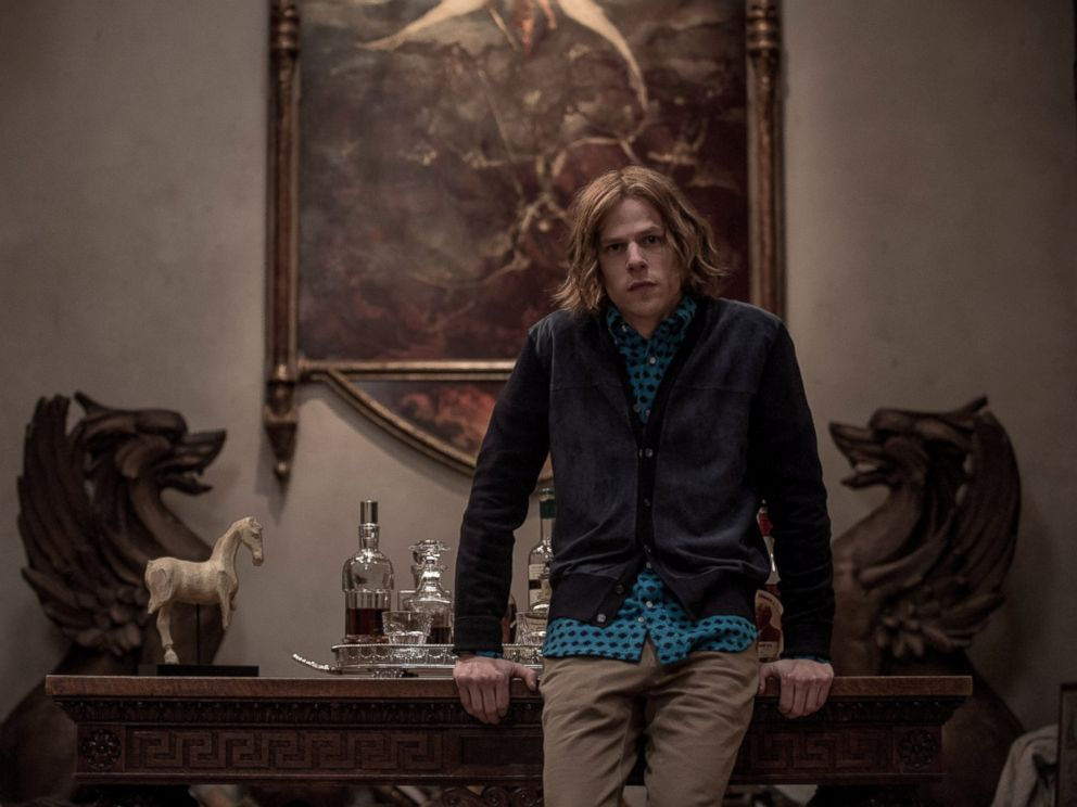 PHOTO: Jesse Eisenberg stars in Batman v Superman: Dawn of Justice.