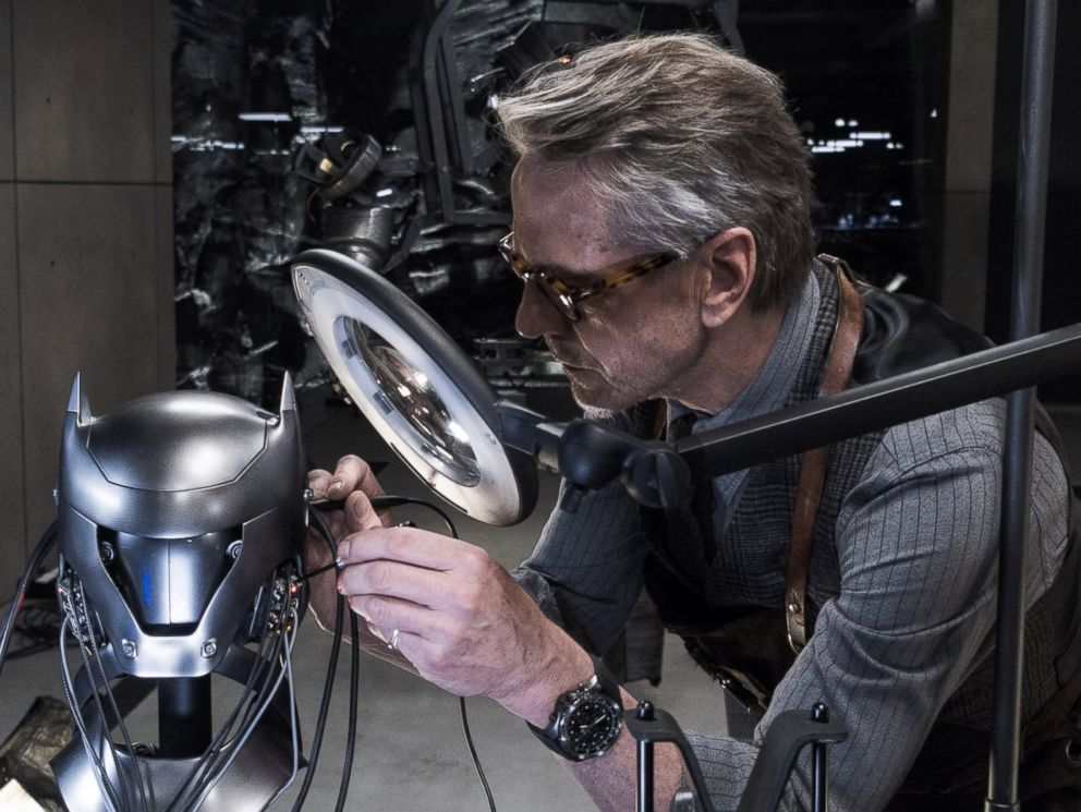 PHOTO: Jeremy Irons appears in Batman v Superman: Dawn of Justice.