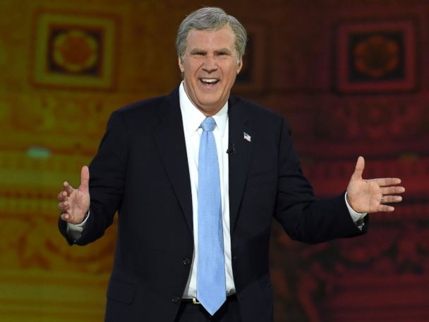 Will Ferrell returns as Bush for 'Not the White House Correspondents' Dinner'