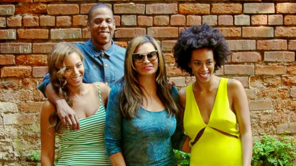 ht beyonce 2 kab 140519 16x9 608 Jay Z, Solange, Beyonce All Smiles After Elevator Fight