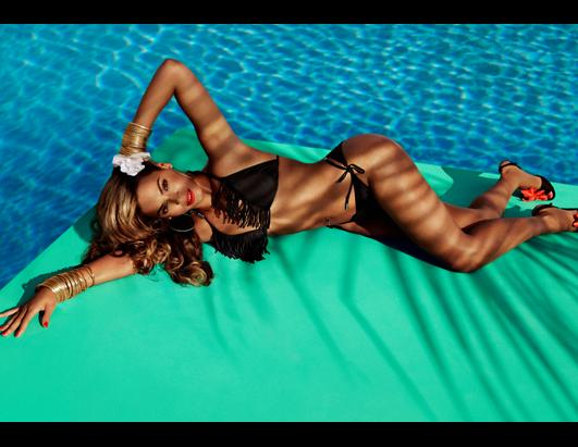 Beyonce Hits the Beach for Ad Campaign