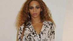 Beyonce Rocks a Skirt with a Seriously High Slit