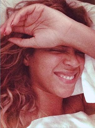 What Beyonce Looks Like When She Wakes Up