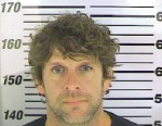 PHOTO: Billy Currington was arrested, April 25, 2013, on charges of Terroristic Threats And Acts.