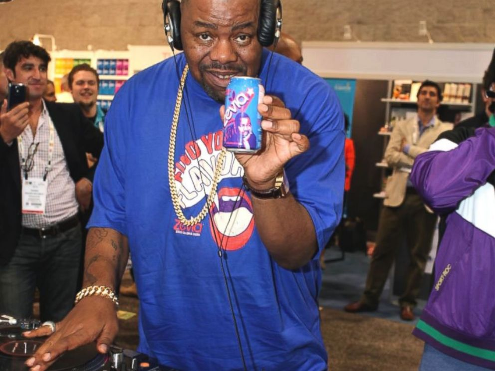PHOTO: Biz Markie appears here with his signature Zevia can.