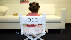 PHOTO: Beyonce posted her daughter, Blue Ivy, sitting in her own monogrammed director's chair, May 20, 2013.