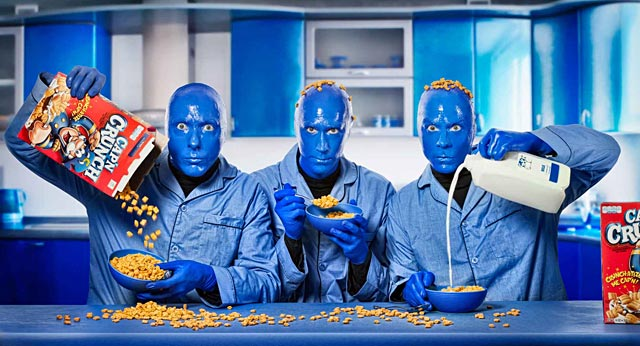 ht blue man group ll 130815 wblog 15 Minutes and Fame: Paul Mobleys Dazzling Celebrity Portraits