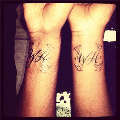 Bobbi Kristina Gets New Tattoo