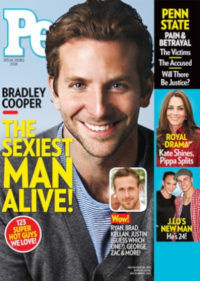 Bradley Cooper Named People's Sexiest Man Alive of 2011