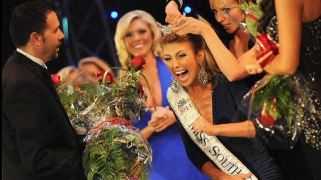 PHOTO:&nbsp;Bree Boyce is pictured winning the 2011 &quot;Miss South Carolina&quot; pageant, July 2, 2011.