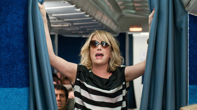 "PHOTO: Kristen Wiig stars as Annie in the film ""Bridesmaids."""