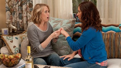 PHOTO: In the comedy bridesmaids, Kristen Wiig stars as Annie, a maid of honor whose life unravels as she leads her best friend, Lillian (Maya Rudolph), and a group of colorful bridesmaids on a wild ride down the road to matrimony.
