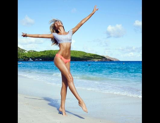 Candice Swanepoel Wows in Victoria?s Secret Shoot!