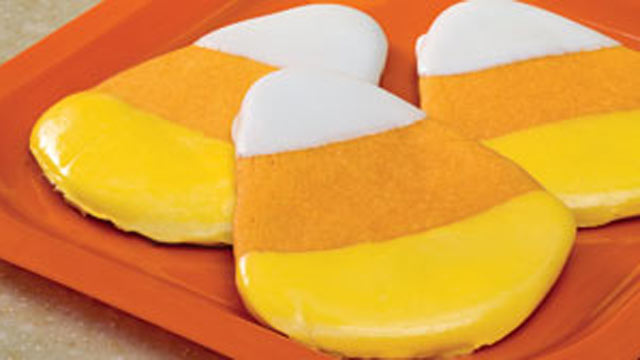 PHOTO: Sandra Lee's Candy Corn Cookies