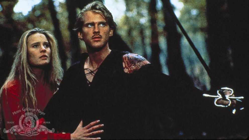 "PHOTO: Robin Wright and Cary Elwes are seen in a still from the 1987 film ""The Princess Bride."""