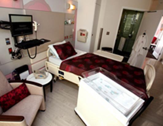 Deluxe Maternity Suite at Cedar Sinai