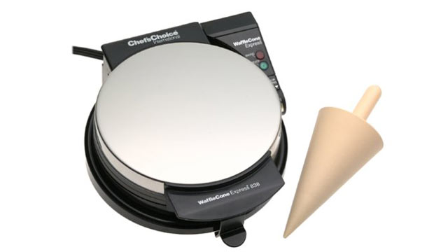 PHOTO: Chef's Choice waffle cone express ice cream cone maker is shown here.
