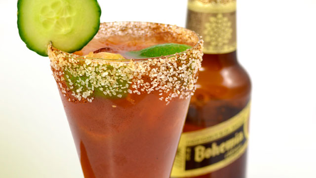 PHOTO: The Bohemia Chipotle Michelada cocktail is shown here.