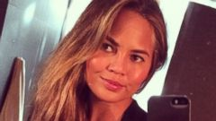 Chrissy Teigen Reveals Long Extensions