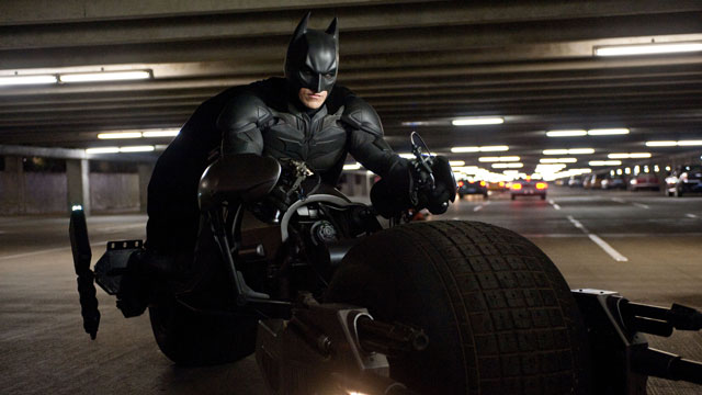 "PHOTO: Christian Bale as Batman in Warner Bros. Pictures and Legendary Pictures action thriller ""The Dark Knight Rises,"" 2012."