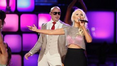 Christina Aguilera Shows Off Trim Figure