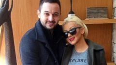 Christina Aguilera and Matt Rutler Show Off Her Bump