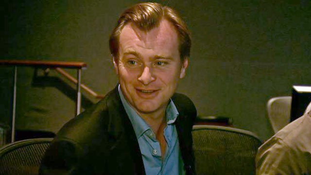 "PHOTO: ""The Dark Knight Rises"" director Christopher Nolan talks about