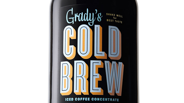 PHOTO: Grady's Cold Brew Iced Coffee