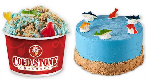PHOTO: Cold Stone Creamerys Shark Week Frenzy and This Cake Bites