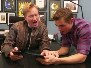Watch Conan and Dave Franco Join Tinder With Hilarious Results