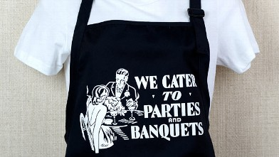 PHOTO: Cool Culinaria offers vintage menus and aprons on their website.