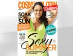 PHOTO: Michelle Rodriguez is seen on the Summer 2013 cover of Cosmopolitan for Latinas.