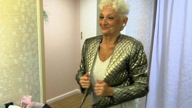 "PHOTO: Hattie, one of the women featured on TLCs ""Extreme Cougar Wives,"" gets ready for a night out."