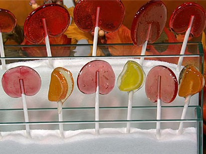 Daphne Oz's lollipops.