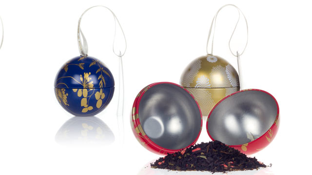 PHOTO: The David's Tea ornaments are shown here.