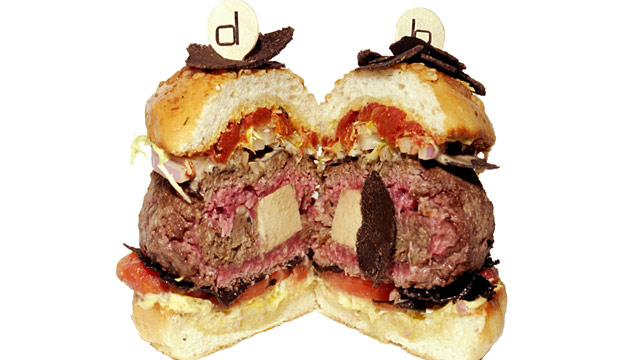 PHOTO: Double Truffle burger