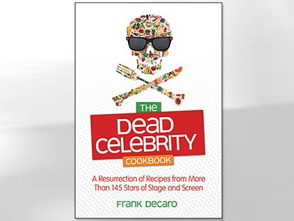 PHOTO: The Dead Celebrity Cookbook cover is shown here.