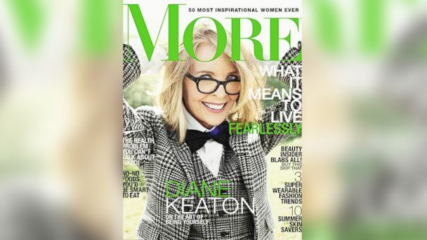 ht diane keaton more mag FOAT kb 140422 16x9 608 Diane Keaton Kisses and Tells