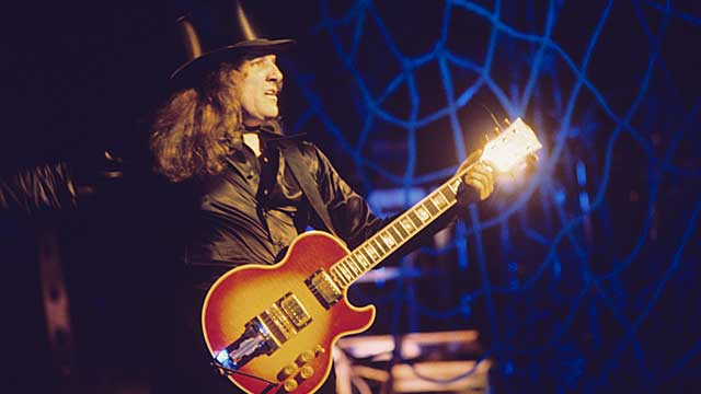 PHOTO: Dick Wagner, now 70, played lead guitar and co-wrote most of the songs for the Alice Cooper band.