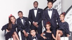 Diddy Reveals His Formal Family Christmas Card