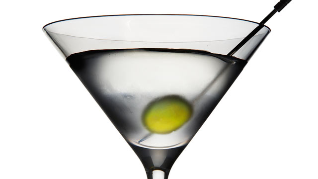 PHOTO: Kettle One's dirty martini cocktail is shown here.
