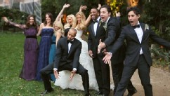 PHOTO: Donald Faison, CaCee Cobb wedding