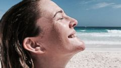 Drew Barrymore Rings in 40 With a Beach Trip