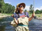 Drew Barrymore Goes Fly Fishing in Idaho