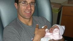 Quarterback Drew Brees Welcomes a Daughter
