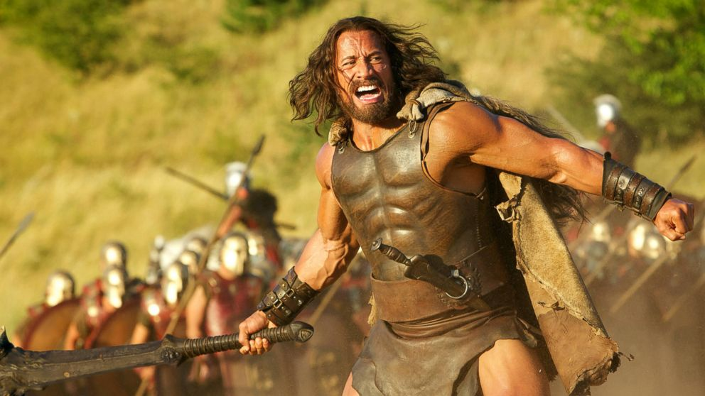 "PHOTO: Dwayne Johnson is Hercules in film ""HERCULES"" from Paramount Pictures and Metro-Goldwyn-Mayer Pictures."