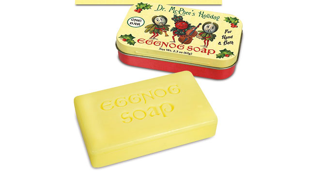 PHOTO: Eggnog Soap from Archie.com is shown here.