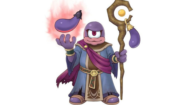 PHOTO: The Kid Icarus' infamous eggplant wizard turns unsuspecting enemies into eggplants.